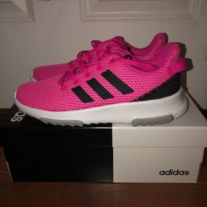 NWT Adidas CF Racer TR K Hot Pink Sneakers